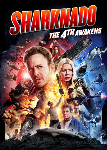 Sharknado: The 4th Awakens on Netflix AUS/NZ