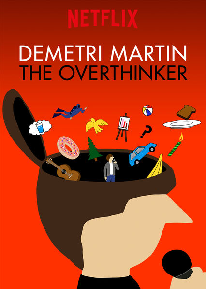 Demetri Martin: The Overthinker on Netflix AUS/NZ