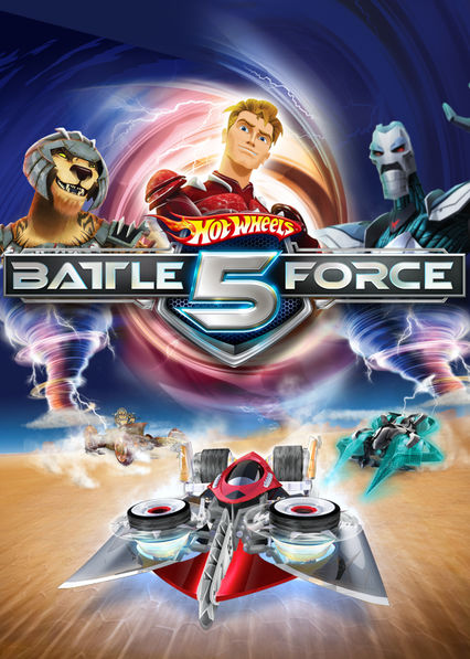 Hot Wheels: Battle Force 5 on Netflix AUS/NZ