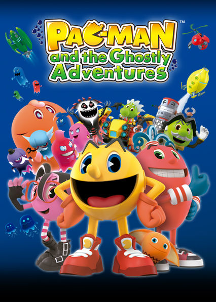 Pac-Man and the Ghostly Adventures on Netflix AUS/NZ