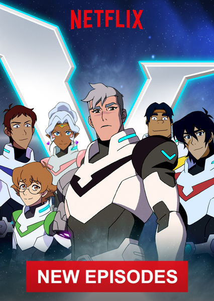 Voltron: Legendary Defender on Netflix AUS/NZ