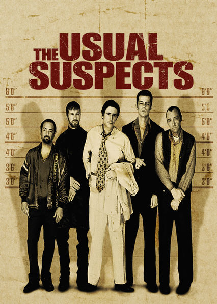 The Usual Suspects on Netflix AUS/NZ