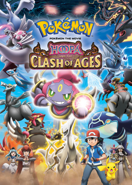 Pok�mon the Movie: Hoopa and the Clash of Ages on Netflix AUS/NZ