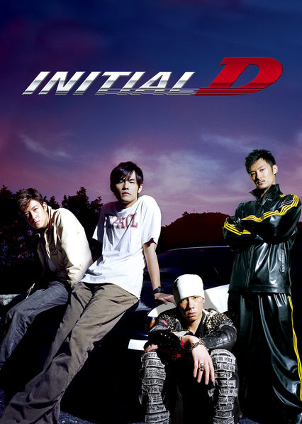 Initial D on Netflix AUS/NZ