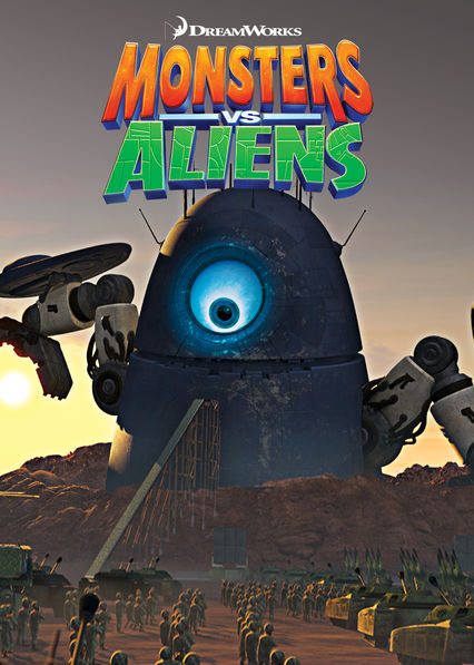 Monsters vs. Aliens on Netflix AUS/NZ
