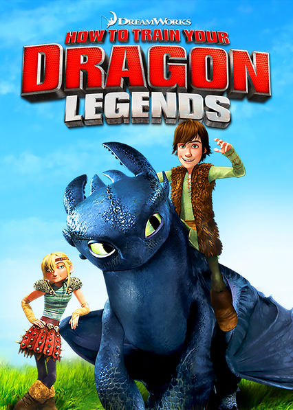 DreamWorks How to Train Your Dragon Legends on Netflix AUS/NZ